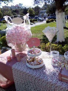 Τραπέζι ευχών με vintage πεταλούδες