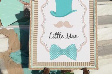 """Στολισμός Γάμου Βάπτισης """"Little man"""""""